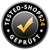 Seal of approval from kfz-verlag.de by Tested-Shops24