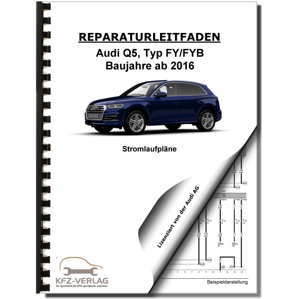 Audi Q5 Fy From 2016 Schematics Wiring Diagrams Electrical Repair Manual