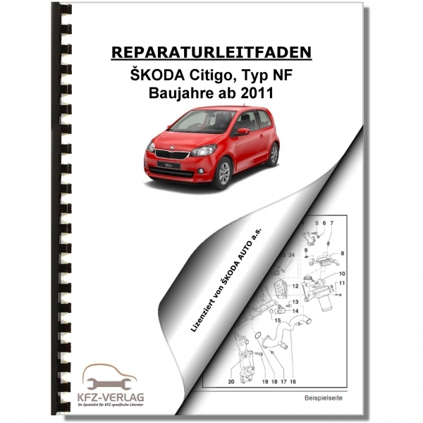 SKODA Citigo Type NF (11>) Schematics, wiring diagrams, electrical - Repair Manual | Cars | Skoda | Citigo