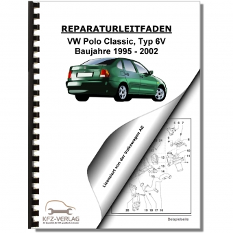 VW Polo Classic, Typ 6V (95-02) Inspektion, Wartung, Pflege - Reparaturanleitung