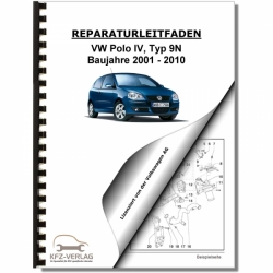 VW Polo 4, Typ 9N (01-10) Electrical system - Repair Manual