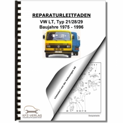 VW LT (75-96) 6-Zyl. 2,4l Benzinmotor 83-95 PS Mechanik - Reparaturanleitung