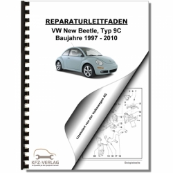 VW New Beetle, Typ 9C (97-10) Automatikgetriebe 01M - Reparaturanleitung