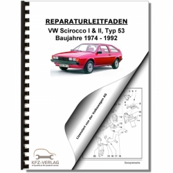 VW Scirocco, Typ 53 (74-92) Automatikgetriebe 010 - Reparaturanleitung