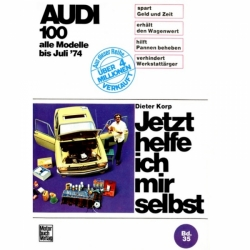 Audi 100 C1 LS/GL/Coupe/7, Typ F104/F105 1968-07.1974 Reparaturanleitung JHIMS
