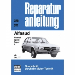 Alfa Romeo Alfasud Normal/Sprint/Super/ti (10.1977-1980) Reparaturanleitung