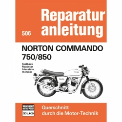 Norton Commando 750/850 Fastback/Roadster/Interstate/Hi-Rider (1967-1977)