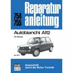 Autobianchi A112 alle Modelle, Serie I-VII (1971-12.1986) Reparaturanleitung