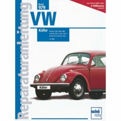 VW Käfer 1200 1300 1500 1600 1302/1303 S Karmann Ghia (68>) Reparaturanleitung