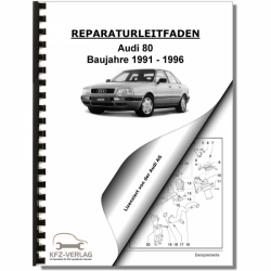 Audi 80, Typ 8C (91-96) Petrol injection / ignition system 2,8 - Repair Manual