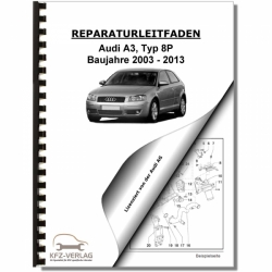 Audi A3, type 8P (03-13) Fuel supply system diesel engines - Repair Manual