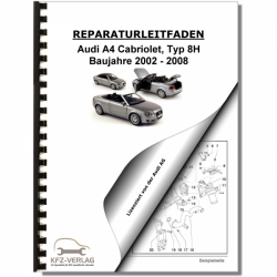 Specials closeouts audi a4 cabriolet type 8h 02 08 body repairs repair manual fandeluxe Gallery