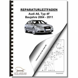 Audi A6, type 4F (04-11) Auxiliary and additional heater - Repair Manual