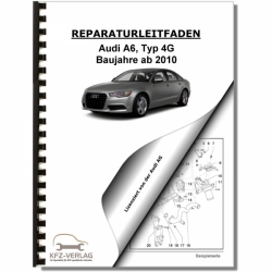 Audi A6, type 4G (10>) Servicing 7 speed dual dutch gearbox 0B5 S tronic - Repair Manual