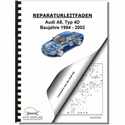 Audi A8, type 4D (96-99) Schematics, wiring diagrams, electrical - Repair Manual