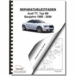 Audi TT, type 8N (98-06) Petrol injection / ignition system 1,8l - Repair Manual