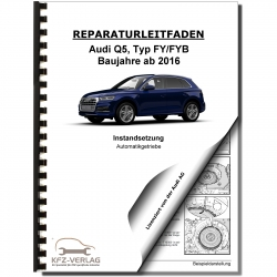 Audi Q5 FY from 2016 servicing 7 speed dual dutch gearbox repair manual