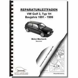 Vw Golf Iii From 1991 To 1999 Repair Manuals And Workshop Manuals