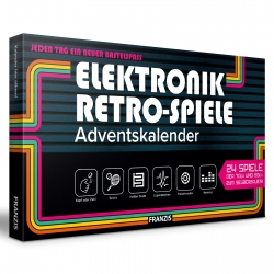 Electronics retro games 70s 80s model building Advent calendar Franzis Verlag