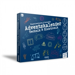 Experiment Discover Technology Electronics Set Advent Calendar Franzis Verlag