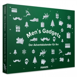 Men's Gadgets fun model building set advent calendar Franzis Verlag