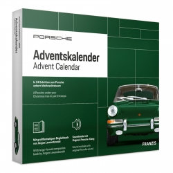 Porsche 911 model car model building advent calendar Franzis Verlag