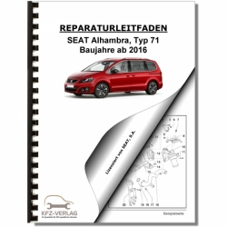 SEAT Alhambra Typ 71 (16>) Radio, telephone, navigation, communication - Repair Manual