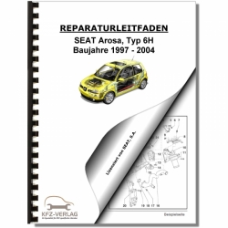 SEAT Arosa Typ 6H (97-04) 4 Gang Automatikgetriebe 001 - Reparaturanleitung