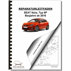 SEAT Ibiza Type 6P (16>) Heating, ventilation and air conditioning - Repair Manual