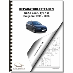 SEAT Leon Type 1M (98-06) 2,3l Petrol injection / ignition system - Repair Manual