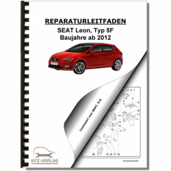 SEAT Leon Typ 5F (12>) Fuel supply system petrol engines - Repair Manual