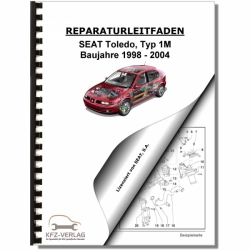 repair manuals for seat toledo rh kfz verlag de Seat Toledo 2002 Seat Leon