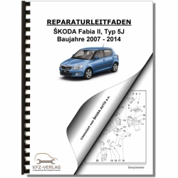 SKODA Fabia Type 5J (07-14) Maintenance - Repair Manual