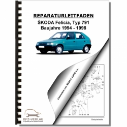 repair workshop manuals and ebooks for skoda felicia rh kfz verlag de Kohler Engine Wiring Diagrams Basic Engine Wiring Diagram Chevy